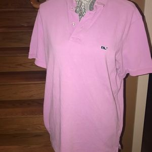 Vineyard vines collared shirt